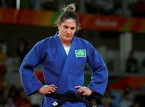 Judoca Mayra Aguiar   REUTERS/Toru Hanai 11/08/2016
