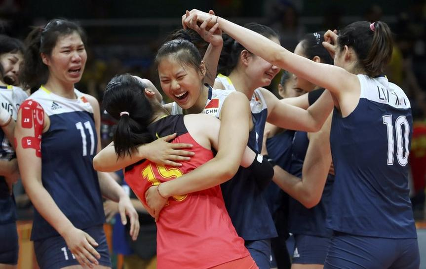 Volleyball: Chinese women shatter Brazil's dream of third ...