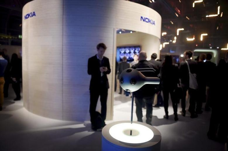 Nokia's virtual reality camera Ozo is seen at the Slush 2015 in Helsinki, November 11, 2015. REUTERS/Antti Aimo-Koivisto/Lehtikuva