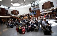 Passengers wait for their flights at Lisbon's airport, Portugal June 24, 2016. REUTERS/Rafael Marchante/File Photo