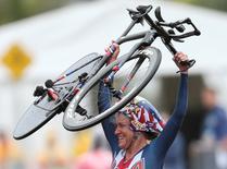 Ciclista norte-americana Kristin Armstrong.         10/08/2016          REUTERS/Matthew Childs