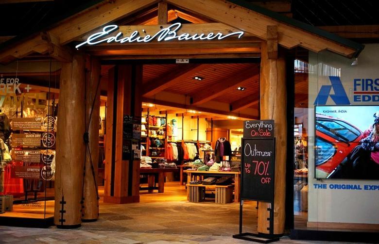 A Eddie Bauer store is seen in Broomfield, Colorado February 14, 2014. REUTERS/Rick Wilking