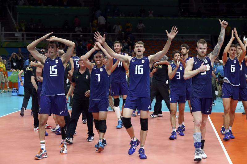 Volleyball: Italian men oust U.S. and seek first gold ...