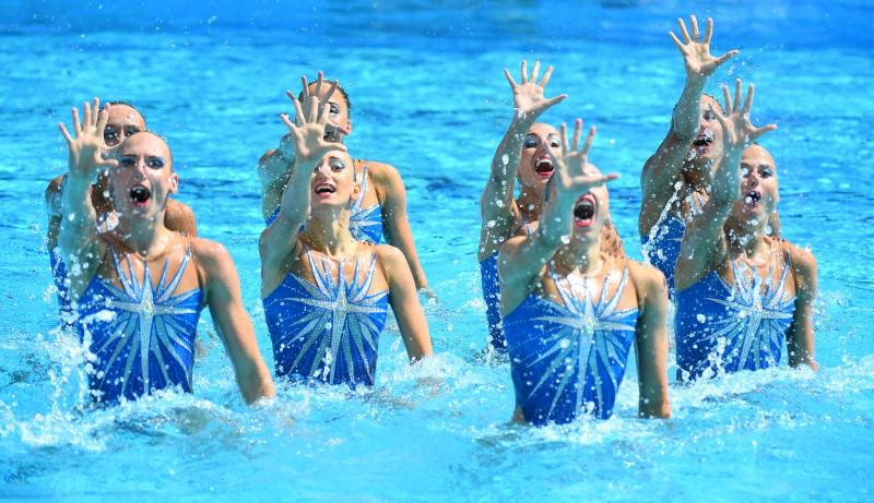 Resultado de imagen para russia synchronized swimming