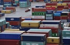 Les commandes à l'exportation pour le secteur manufacturier britannique ont atteint en août leur plus haut niveau depuis deux ans avec la dépréciation de la livre consécutive à la victoire des partisans d'une sortie de la Grande-Bretagne de l'Union européenne lors du référendum du 23 juin. /Photo d'archives/REUTERS/Toby Melville