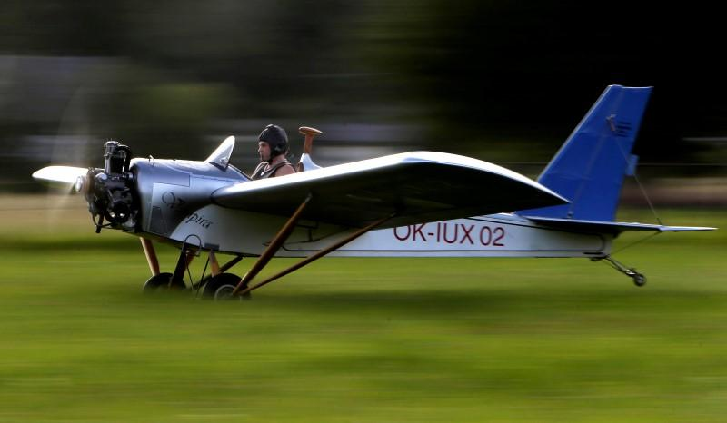 Czech locksmith builds plane to fly to work 10 miles away - Reuters