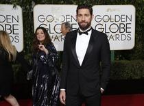 John Krasinski chega para premiação em Beverly Hills.  10/1/2016.  REUTERS/Mario Anzuoni