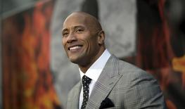 1. Dwayne Johnson is the world's highest paid actor this year with $64 million in earnings.  REUTERS/Mario Anzuoni