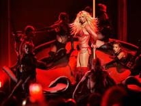 Millennium Award recipient Britney Spears performs a medley of songs at the 2016 Billboard Awards in Las Vegas, Nevada, U.S., May 22, 2016.  REUTERS/Mario Anzuoni/File Photo