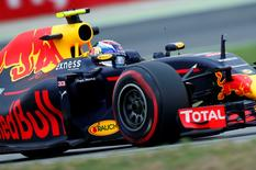 Germany Formula One - F1 - German Grand Prix 2016 - Hockenheimring, Germany - 29/7/16 - Red Bull Racing's Max Verstappen attends the practice. REUTERS/Ralph Orlowski