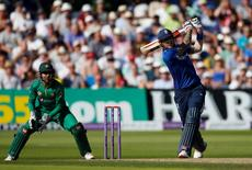Britain Cricket - England v Pakistan - Third One Day International - Trent Bridge - 30/8/16 England's Alex Hales in action Action Images via Reuters / Paul Childs Livepic EDITORIAL USE ONLY.