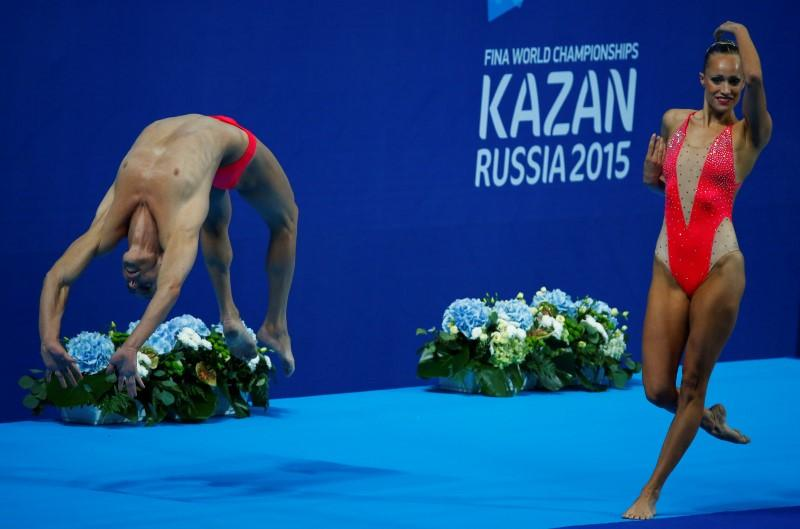 Bill May Synchronized Swimming