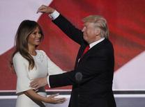 Melania Trump durante convenção republicana em Cleveland. 21/7/2016. REUTERS/Mike Segar