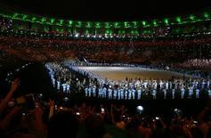 Cerimônia de abertura da Paralimpíada do Rio, no Maracanã. 07/09/2016 REUTERS/Jason O'Brien