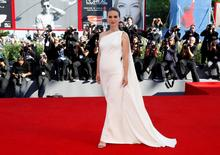 "Actress Natalie Portman attends the red carpet for the movie ""Planetarium"" at the 73rd Venice Film Festival in Venice, Italy September 8, 2016. REUTERS/Alessandro Bianchi"