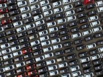 Les ventes de véhicules ont augmenté à leur rythme le plus soutenu depuis trois ans et demi en Chine en août, les ventes allant en s'accélérant avant l'expiration en fin d'année d'une incitation fiscale à l'achat de véhicules d'entrée de gamme. /Photo d'archives/REUTERS