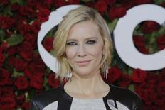 Cate Blanchett durante evento em Nova York. 12/6/2016. REUTERS/Andrew Kelly