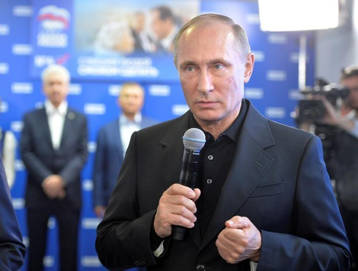 Putin firms control with big win for Russia's ruling party