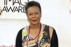 FILE PHOTO - Claudia Rankine arrives at the 46th NAACP Image Awards in Pasadena, California February 6, 2015.  REUTERS/Jonathan Alcorn