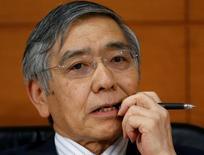 Presidente do banco central do Japão, Haruhiko Kuroda. 21/09/2016  REUTERS/Toru Hanai