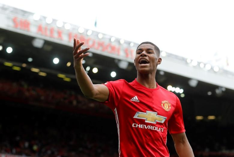 Britain Soccer Football - Manchester United v Manchester City - Premier League - Old Trafford - 10/9/16Manchester United's Marcus Rashford Action Images via Reuters / Carl RecineLivepic/files