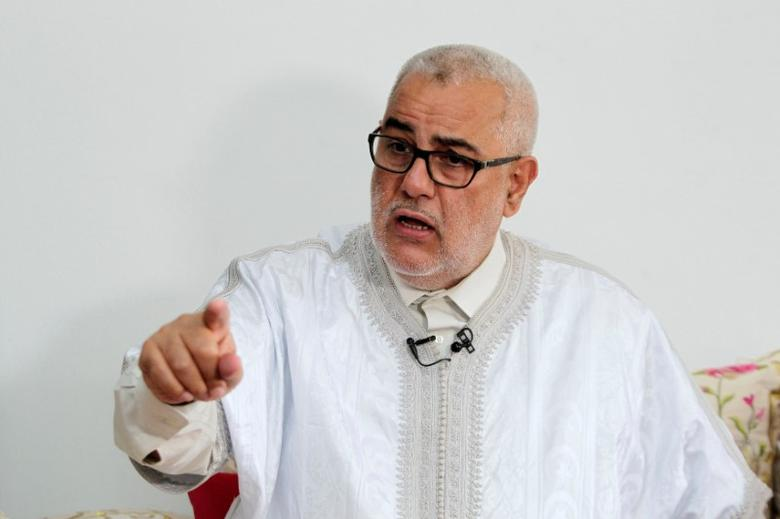 Moroccan Prime Minister Abdelilah Benkirane speaks during an interview with Reuters in his house in Rabat, Morocco, October 3, 2016. REUTERS/Stringer  FOR EDITORIAL USE ONLY. NO RESALES. NO ARCHIVES