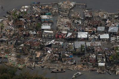 Haiti from above