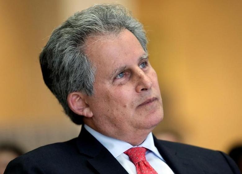 2016年10月8日,华盛顿,国际货币基金组织(IMF)第一副总裁利普顿在IMF和世行年度会议期间参加一场专题讨论。REUTERS/Yuri Gripas - RTSRECJ