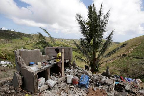 Aftermath of Hurricane Matthew