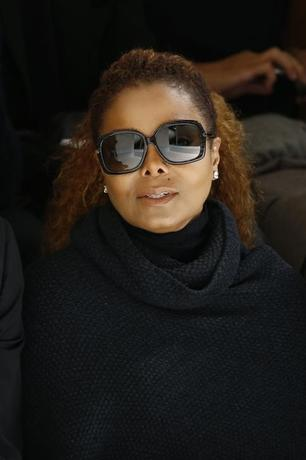 FILE PHOTO: Artist Janet Jackson attends the Hermes Spring/Summer 2016 women's ready-to-wear collection show in Paris, France, October 5, 2015. REUTERS/Benoit Tessier