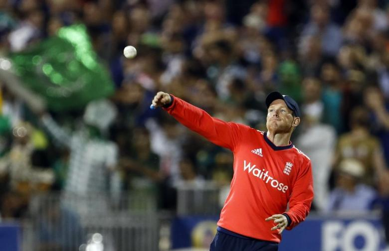 Britain Cricket - England v Pakistan - NatWest International T20 - Emirates Old Trafford - 7/9/16England's Eoin Morgan in actionAction Images via Reuters / Lee SmithLivepic