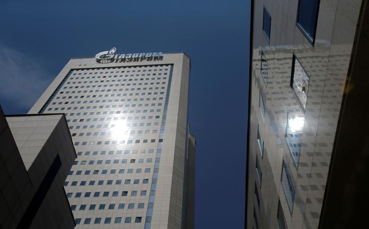A general view shows the headquarters of Gazprom in Moscow, Russia, June 30, 2016. REUTERS/Maxim Shemetov/Files