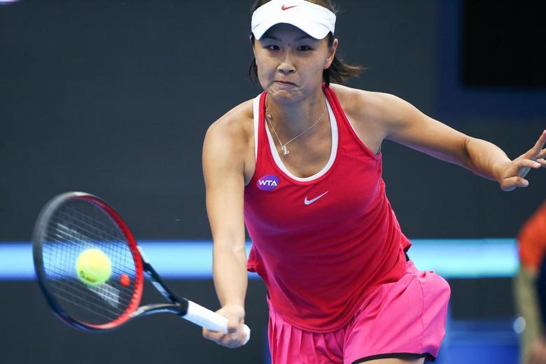 Tennis - China Open Women's Singles Second Round - Beijing, China - 05/10/16. China's Peng Shuai plays against France's Caroline Garcia.  REUTERS/Damir Sagolj