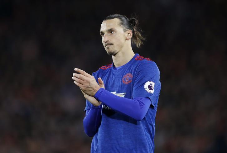Britain Football Soccer - Liverpool v Manchester United - Premier League - Anfield - 17/10/16Manchester United's Zlatan Ibrahimovic Action Images via Reuters / Carl RecineLivepic