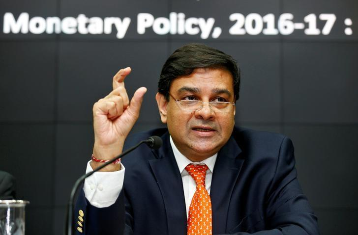 The Reserve Bank of India (RBI) Governor Urjit Patel speaks during a news conference after the bi-monthly monetary policy review in Mumbai, India, October 4, 2016. REUTERS/Danish Siddiqui/File Photo