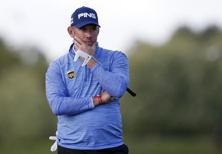Britain Golf - British Masters - The Grove, Hertfordshire - 16/10/16England's Lee Westwood looks dejected during the final roundAction Images via Reuters / Paul ChildsLivepic