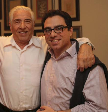 Iranian-American consultant Siamak Namazi (R) is pictured with his father Baquer Namazi in this undated family handout picture. Iranian authorities this week arrested the elderly father of an American jailed in Iran since October 2015, the man's family said on February 24, 2016. REUTERS/Handout via Reuters/File Photo