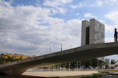 Vista do prédio do Congresso Nacional em Brasília 11/05/2016 REUTERS/Adriano Machado