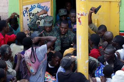 Desperation in Haiti