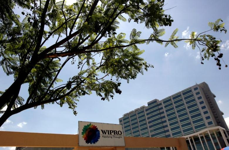 The Wipro campus is seen in Bangalore June 23, 2009.  REUTERS/Punit Paranjpe/File Photo