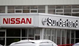 A Nissan logo at a car dealership in Sunderland, Britain June 29, 2016. Picture taken June 29, 2016. REUTERS/Andrew Yates