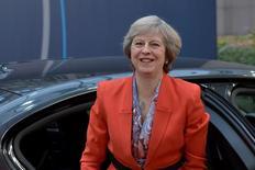 Premiê britânica, Theresa May. 21/10/2016 REUTERS/Eric Vidal