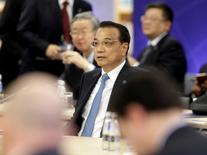 China's Premier Li Keqiang attends meeting of heads of government Central and Eastern European countries and China in Riga, Latvia, November 5, 2016.  REUTERS/Ints Kalnins