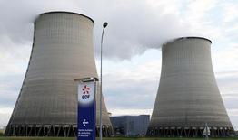 La mise à l'arrêt forcée de plusieurs réacteurs nucléaires va entraîner pour EDF une perte de production de l'ordre de 30 térawhatts-heure (TWh) représentant un manque à gagner d'au moins un milliard d'euros en 2016. /Photo prise le 20 octobre 2016/REUTERS/Régis Duvignau