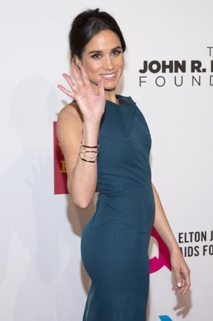 Meghan Markle attends the Elton John AIDS Foundation's 13th Annual An Enduring Vision Benefit in New York October 28, 2014. REUTERS/Andrew Kelly