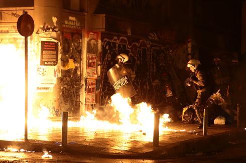 Greece protests Obama's visit
