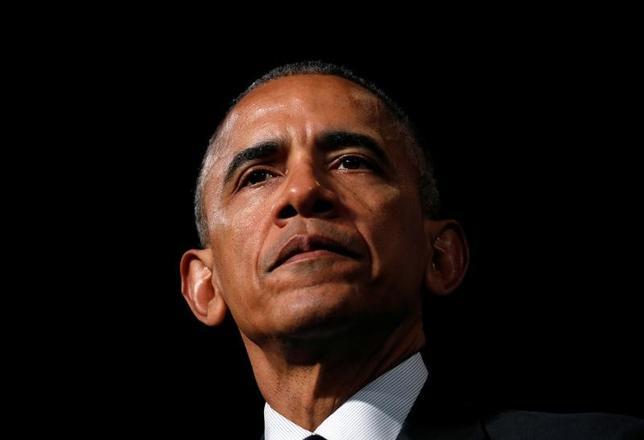 11月16日、複数の関係筋によると、欧州各国の首脳とオバマ米大統領は18日にベルリンで会談し、ロシアのウクライナ介入に伴う制裁措置の延長やロシアのシリア空爆に伴う追加制裁の可能性について協議するとみられる。写真はアテネで撮影(2016年 ロイター/Kevin Lamarque)