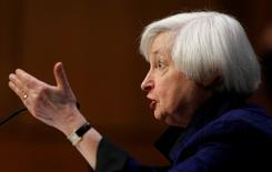 Chair do Fed, Janet Yellen.    17/11/2016              REUTERS/Gary Cameron