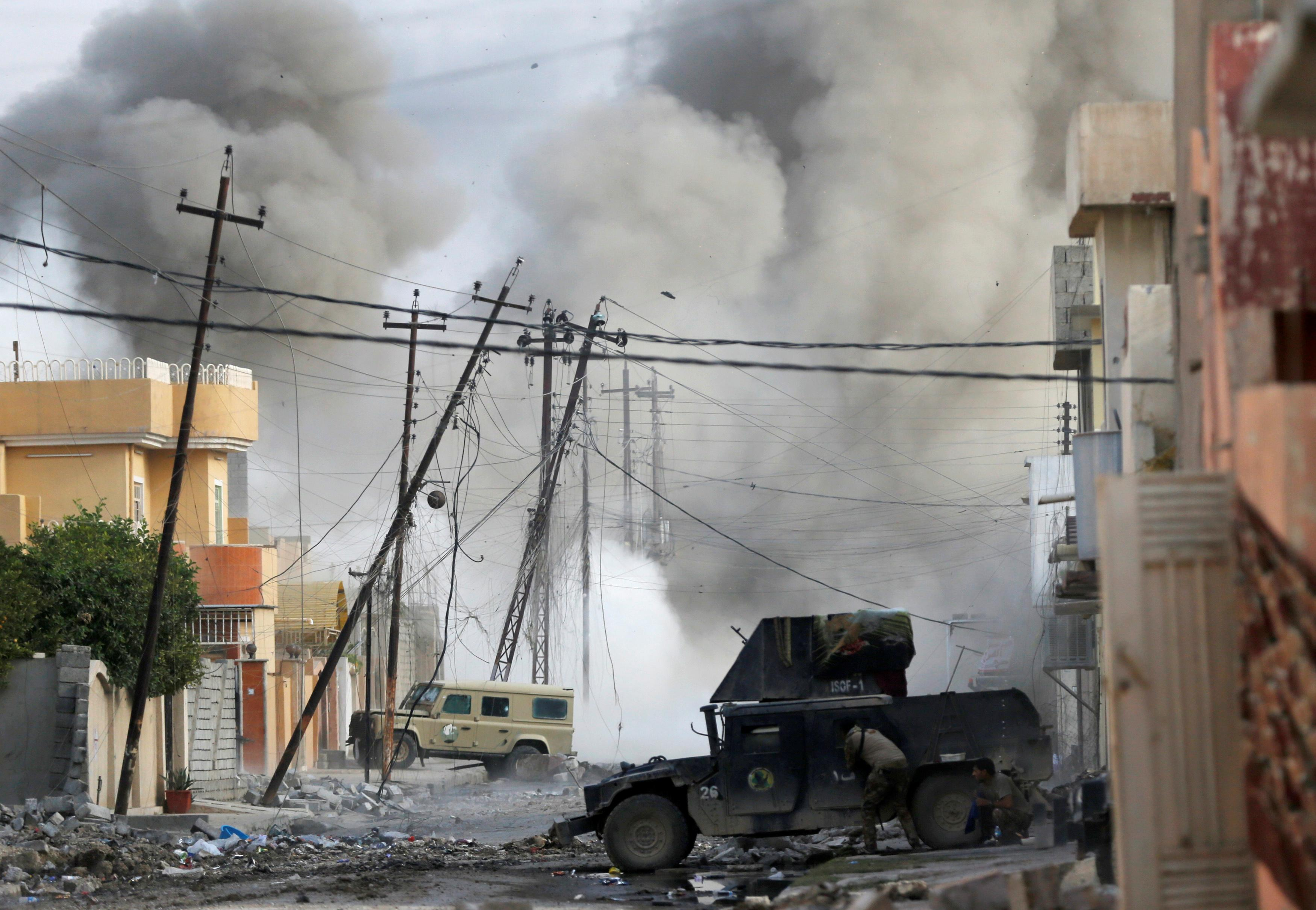 Iraqi troops expand foothold in Mosul as Islamic State