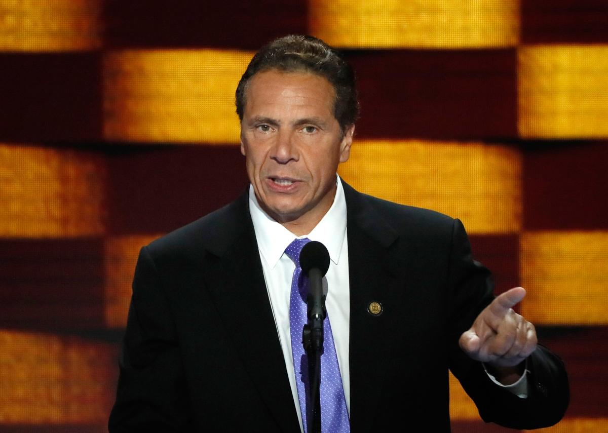 New York's Cuomo unveils rights initiative, says election spawned 'social crisis'